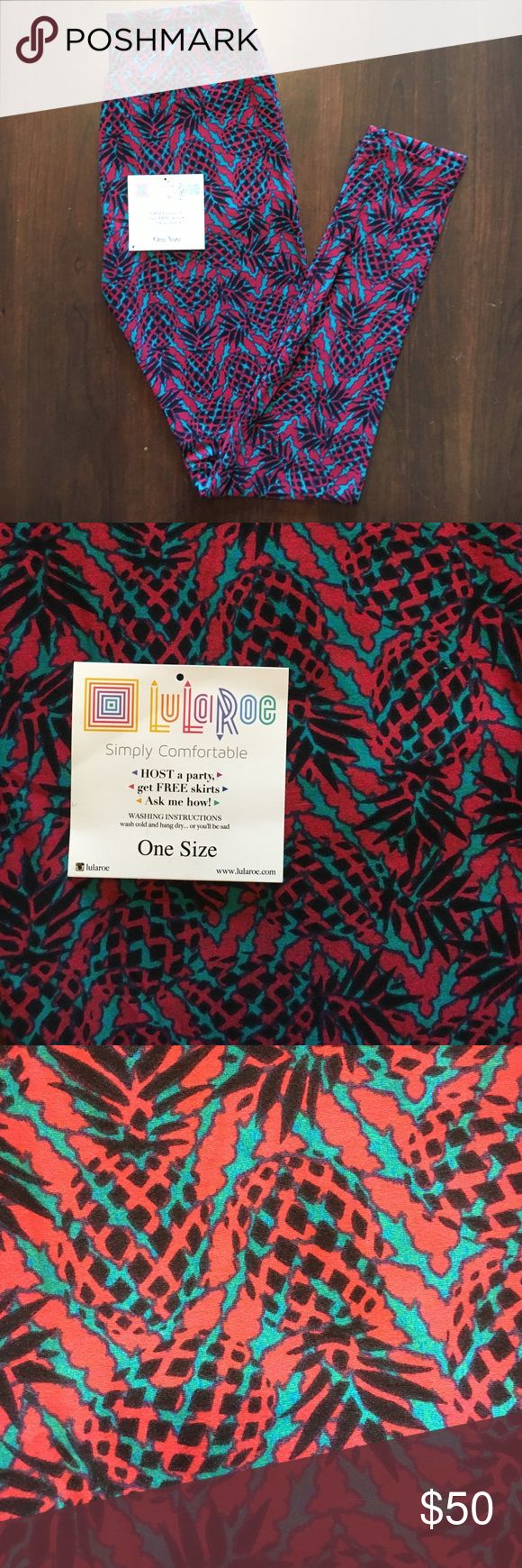 Brand new lularoe rare pineapple leggings OS Brand new lularoe pineapple leggings in OS!! Made in Vietnam!! These are really rare in size OS!!! 🦄🦄🦄🦄 super cute for spring and summer time! Reasonable offers are welcome!!! LuLaRoe Pants Leggings