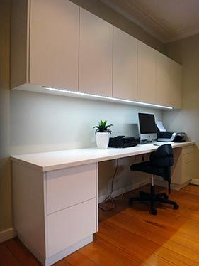 Custom home office cabinet