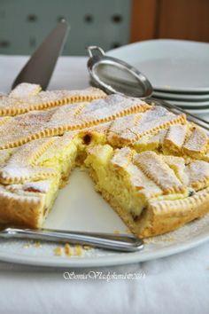 Tvarohový koláč s vanilkovým krémom