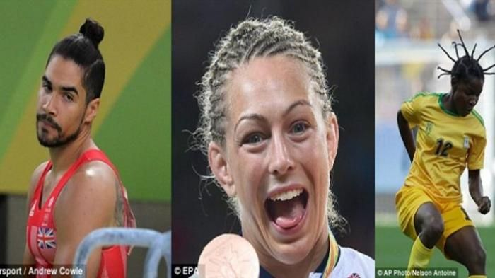 Olimpiade Rio 2016 - Netizen Ramai Bicarakan Atlet Olimpiade Dengan Gaya Rambut Terburuk, Siapa Aja?