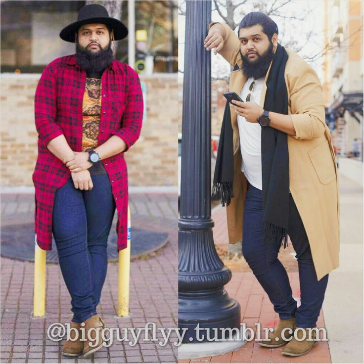 Because FATshion isn't a bad word to us!!!! For the details to these looks check the Fatshion February archive posts from last month!! Follow bigguyflyy for plus size male fashion inspiration, tips,...