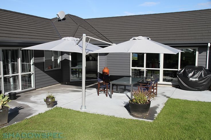 SHADOWSPEC – Global Suppliers of Luxury Outdoor Umbrella Systems At SHADOWSPEC, we know the importance of having patio umbrellas that are sturdy and reliable. The SU6 umbrella is manufactured from marine-grade Powder-coated Aluminium, stainless Steel and other non-corrosive materials to ensure it will last for years.  USA – www.shadowspec.com  AUST – www.shadowspec.com.au  NZ/Other – www.shadowspec.co.nz