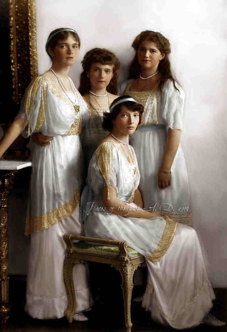 anastasia romanov essay The daughters of tsar nicholas ii—marie, tatiana, anastasia, and  as the  revolution raged on, scores of members of the romanov family perished  and  art institutions in compiling the information and images for this essay.