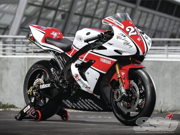 Did you see that R1 blow by us going into turn 6? It looked like Nori Haga's Santander superbike!