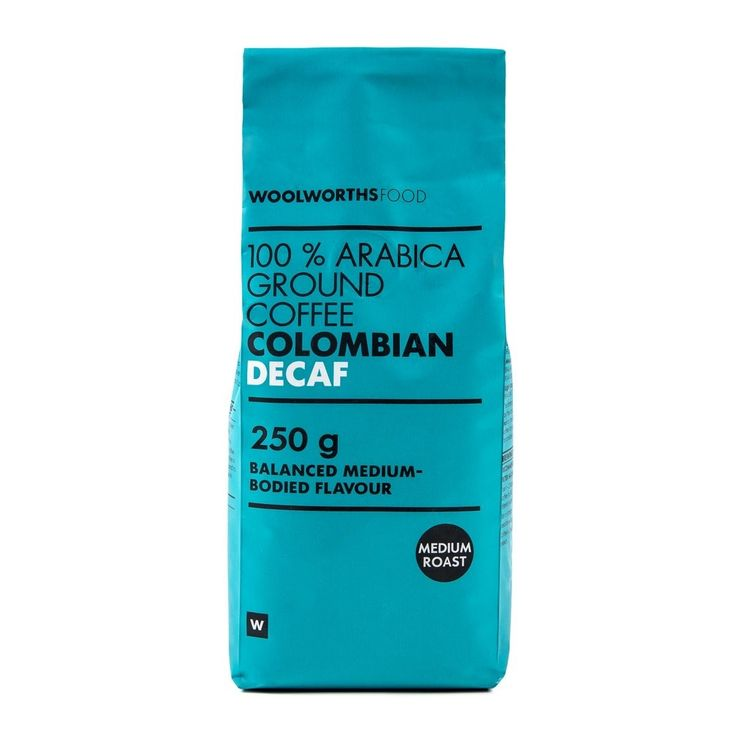 Colombian Decaf  Ground Coffee 250g