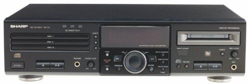 Sharp MD-R3 CD/Minidisc Player/Recorder (Discontinued by Manufacturer)