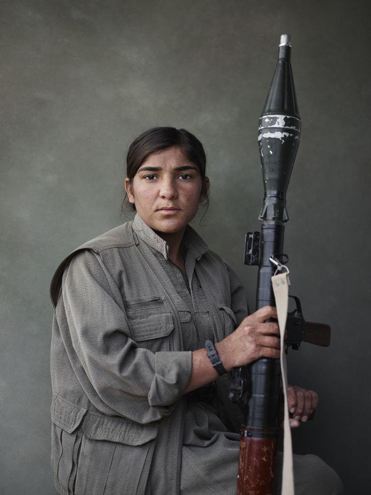 Sarya with RPG, PKK, Makhmour, Iraq /Joey L. - NYC-based Photographer and Director