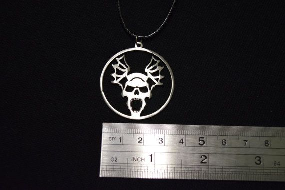 Price 1.9 $ usd. Lord of the night Pendant Stainless Steel от Warhammer40kShop