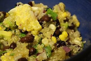Black Bean, Quinoa & Citrus Salad from Can Cook Will Travel -- yu-um!!