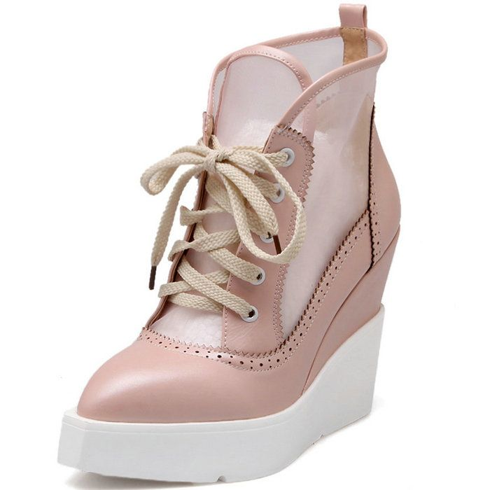 Купить товарКлин сандалии туфли на каблуках для женщин кружева up вырезы толстой подошве острым носом сетки на платформе сандалии винтаж женщины летняя обувь в категории Сандалиина AliExpress.   Women Knee High Boots Flats Autumn Winter Snow Boots Lace up Sweet Bow tie Camouflage Women Shoes Knee Boots Winter Sh