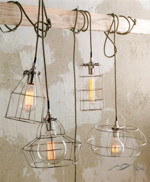 Cage lamp a modern twist on an archetype our factory cage lamps look plucked