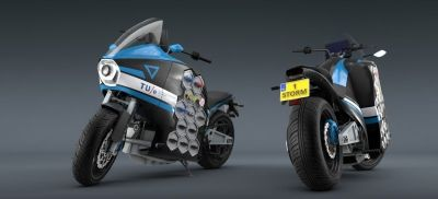 Netherlands-based Storm Eindhoven are preparing to depart on an 80-day world tour with their zero-emission electric motorcycle, the STORM Wave.