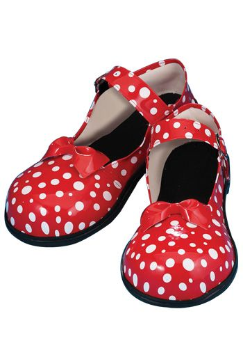 Tweedle Dee and Dum  Polka Dot Clown Shoes  Halloweencostumes.com