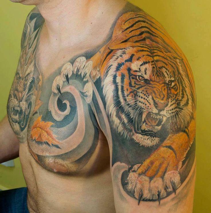 Tiger by Dmitriy Chikaev