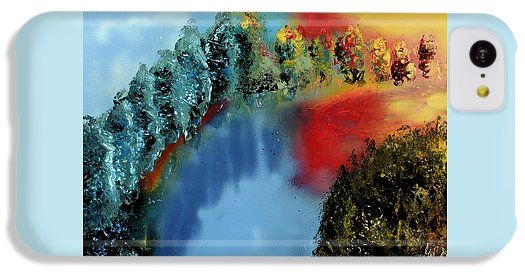 Printed with Fine Art spray painting image River Of Colors by Nandor Molnar (When you visit the Shop, change the orientation, background color and image size as you wish)