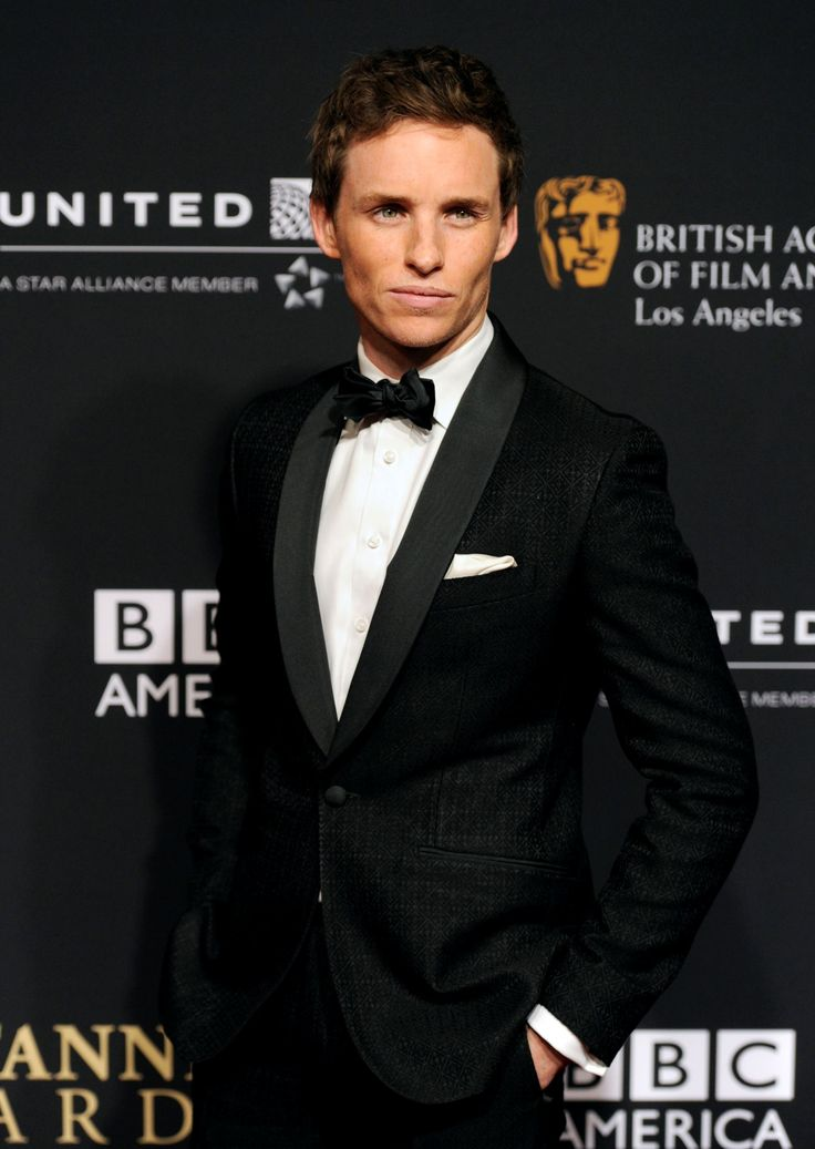 """Eddie Redmayne, 2015 Golden Globe nomination for Best Actor in Motion Picture Drama for Portaying Professor Stephan Hawking in the """" The Theory of Everything."""""""