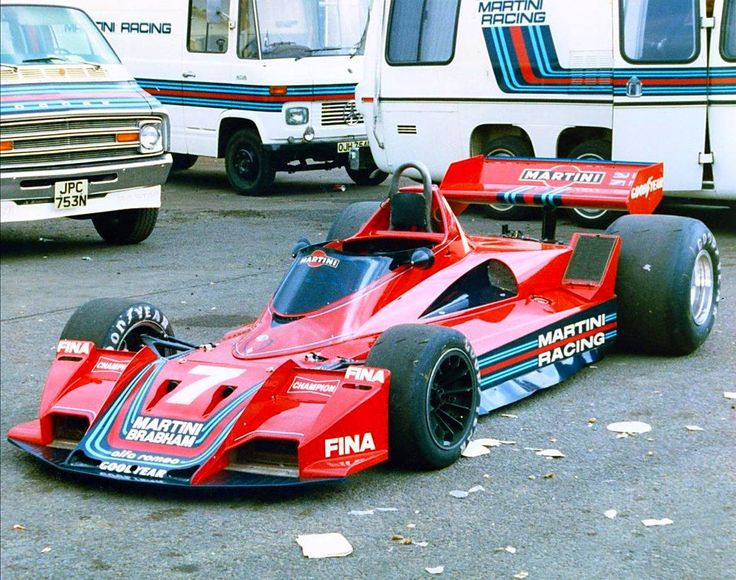 Beautiful car, like all designed by Gordon Murray, Brabham BT45b