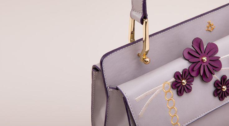 Thalia bag - embellishment details