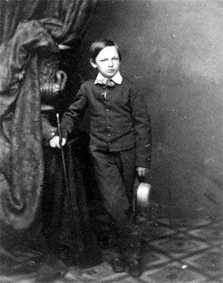"""Willie"" was named after Mary Todd's brother-in-law, Dr. William Wallace. He was a handsome, smart, serious and thoughtful child who was the favorite of Mary Todd Lincoln and her husband. Her cousin, Elizabeth Todd Grimsley, described Willie as a ""noble, beautiful boy of nine years, of great mental activity, unusual intelligence, wonderful memory, methodical, frank and loving, a counterpart of his father, save that he was handsome."""
