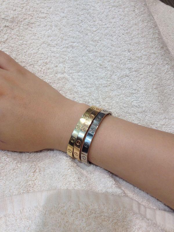 Cartier Love Bracelet Size 16 Best Bracelets