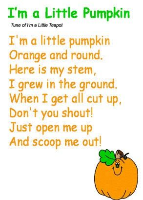 cant wait to have kids and make them sing it in the fall or when learning about or carving pumpkins oh who am i kidding - Halloween Songs For Preschoolers
