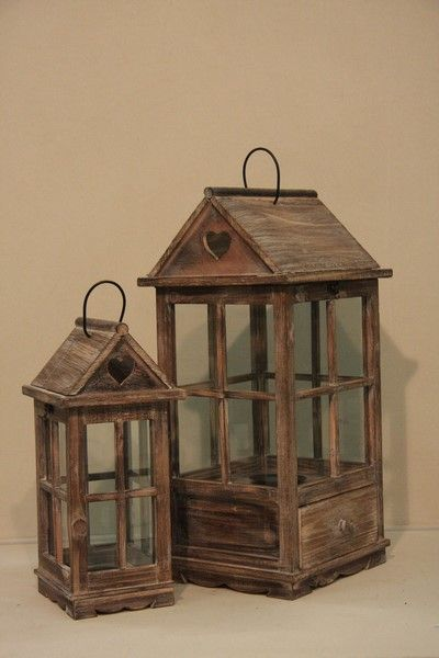 best 25 rustic lanterns ideas on pinterest mason jar On lanterne in legno