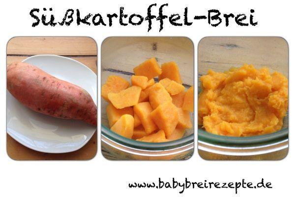 Süßkartoffel-Brei Rezept zum Selbermachen - Babybreirezepte zum Nachkochen.