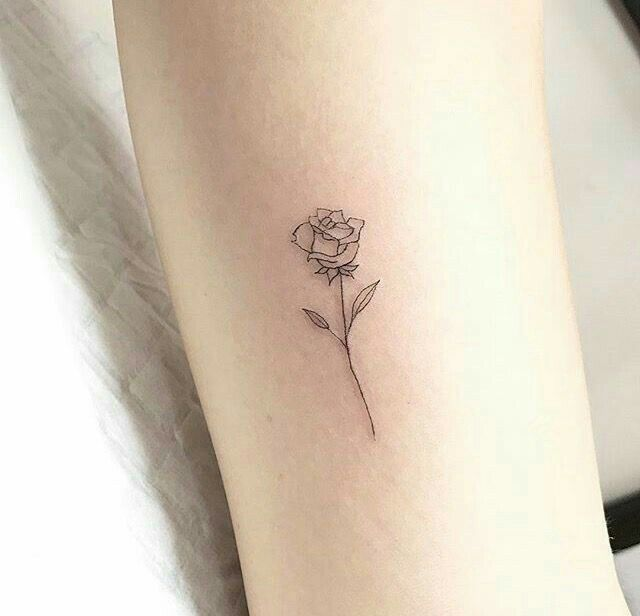 Rose Tattoos Minimalist Feet Tattoos In 2020 Small Rose Tattoo Tiny Rose Tattoos Tattoos