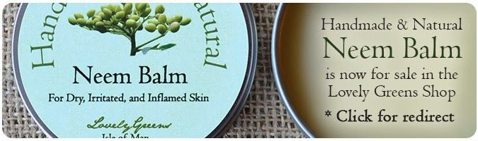 Lovely Greens | The Beauty of Country Living: Handmade Healing Balm for Eczema and Psoriasis