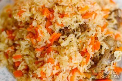 Receita de Arroz com cenoura em receitas de arroz, veja essa e outras receitas aqui!