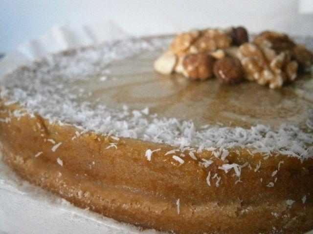 Tarte de batata doce sem açucares refinados e baixo em gordura / Low fat Sweet potato pie without refined sugar ;) receita em www.pimentadoce.net