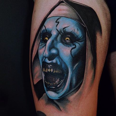 42 best the conjuring annabelle tattoos images on pinterest tattoo ideas horror tattoos and. Black Bedroom Furniture Sets. Home Design Ideas