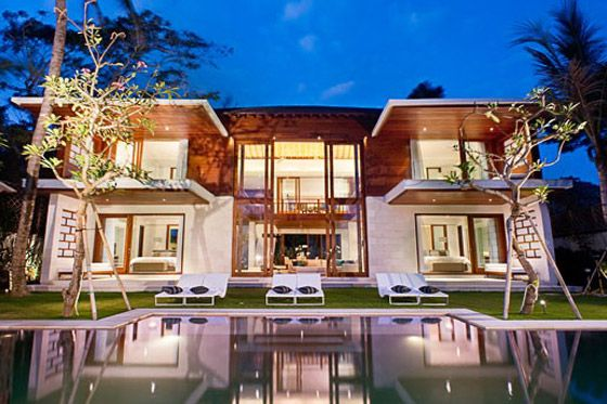 big houses on the beach - Google Search