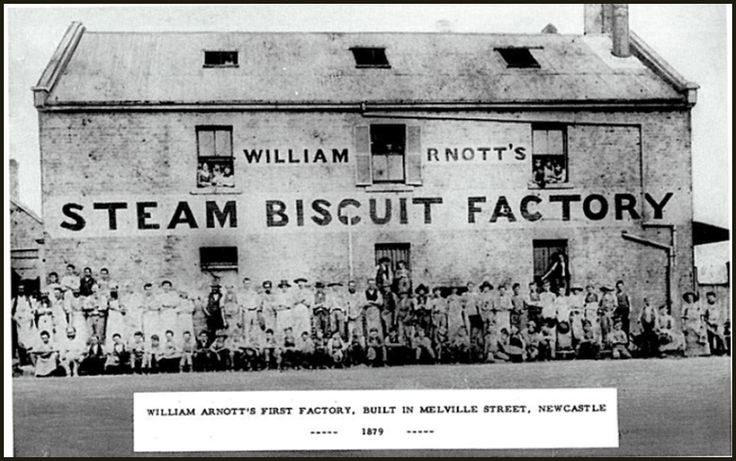 William Arnott's first biscuit factory, Newcastle NSW 1879