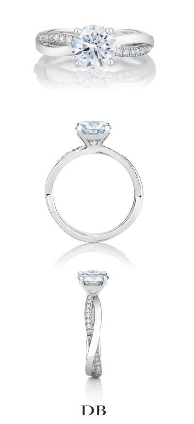 De Beers Infinity Engagement Ring in Platinum anillos de compromiso | alianzas de boda | anillos de compromiso baratos http://amzn.to/297uk4t