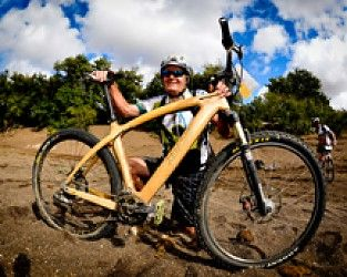 Remember the oak with the wooden bike from this year's Nedbank Tour de Tuli?