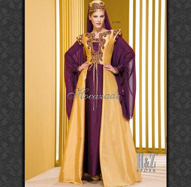 Caftan' Henna Night Dress' Bindallı' Kaftan' designer Sevda Gevenci for Hocazade