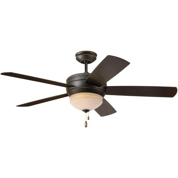 Emerson Fans Summerhaven 52-Inch Outdoor Ceiling Fan - Golden Espresso ($279) ❤ liked on Polyvore featuring home, outdoors, outdoor decor, outside ceiling fans, outdoor ceiling fans, outside garden decor and contemporary outdoor ceiling fans