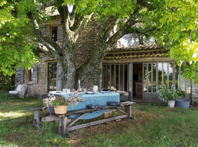 Cabanon campagne garrigue