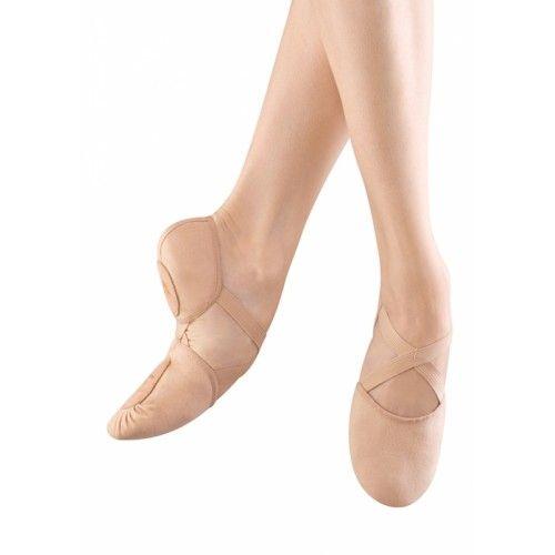 Bloch Elastosplit Soft Canvas, Ballet Shoes