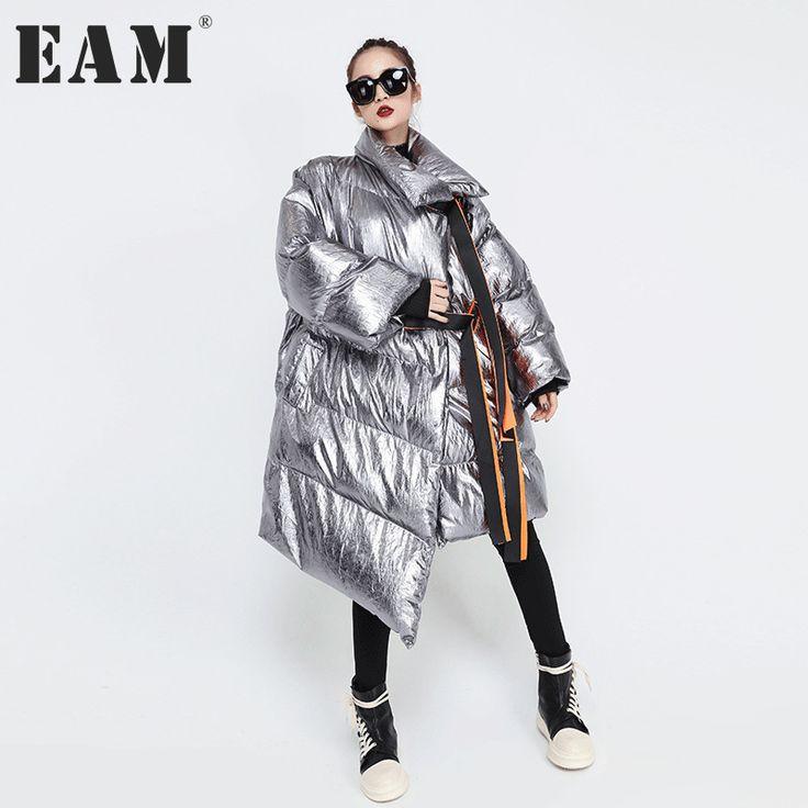 #aliexpress, #fashion, #outfit, #apparel, #shoes #aliexpress, #Winter, #Pattern, #Loose, #Cotton, #Padded, #Fashion, #Thickening, #Irregular, #Jacket, #Women, #YA746