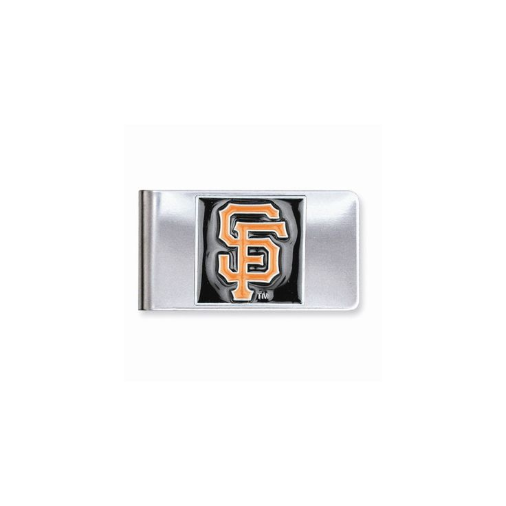 MLB Giants Money Clip - Engravable Personalized Gift Item