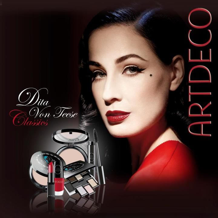 """Dita Von Teese's New Campaign Image for Her Debut Signature Fragrance """"Dita Von Teese"""""""