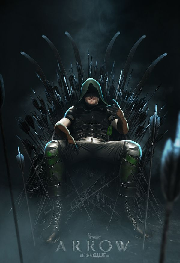 Stephen Amell as the Green Arrow by BossLogic