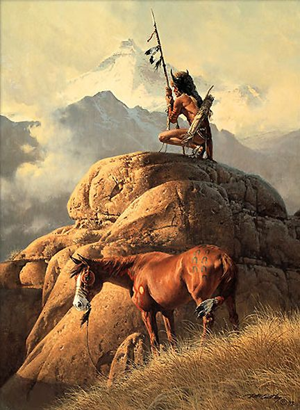 'The Lone Sentinel' by Frank McCarthy                                                                                                                                                                                 More