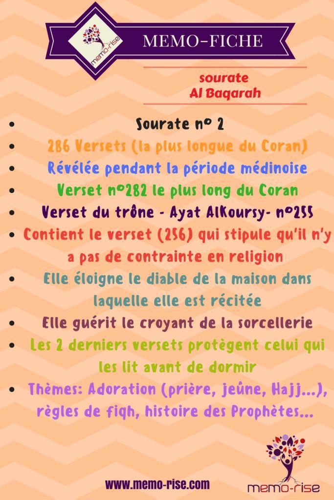 Sourate Al Baqara : spécificités et bienfaits - memo-rise.com