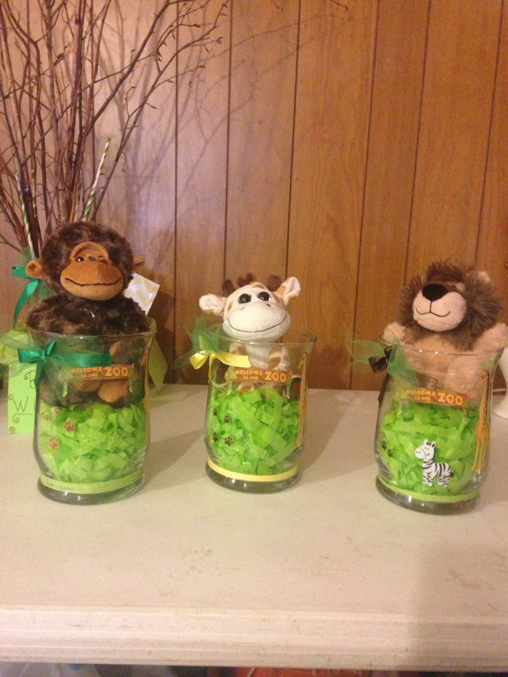 Woodland Animal Shower Table Baby Decorations
