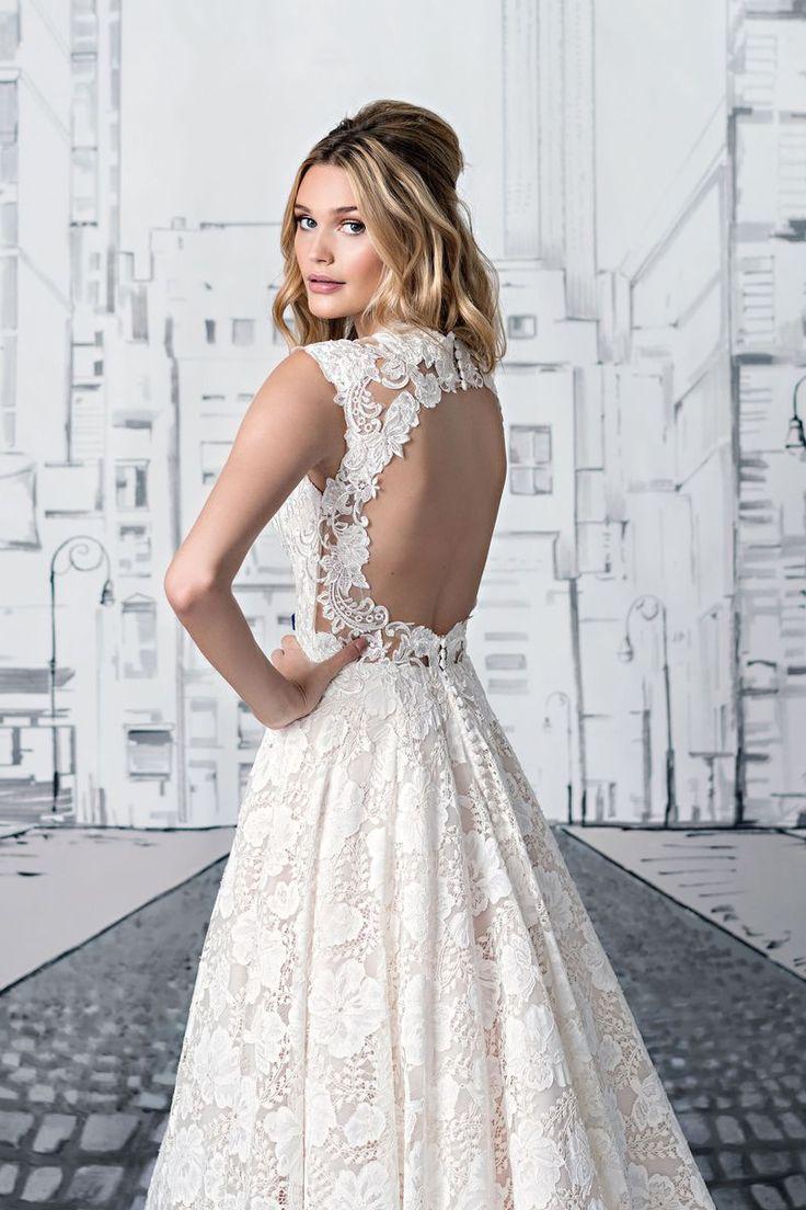 24 best justin alexander images on Pinterest   Wedding frocks, Short ...