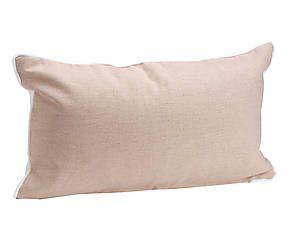 Coussin YEQ coton, beige - 50*30