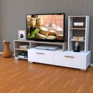 Yurudesign S1 Parker Tv Ünitesi, Tv Sehpası Raf